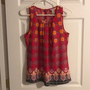 Banana Republic Sleeveless Blouse Size Small